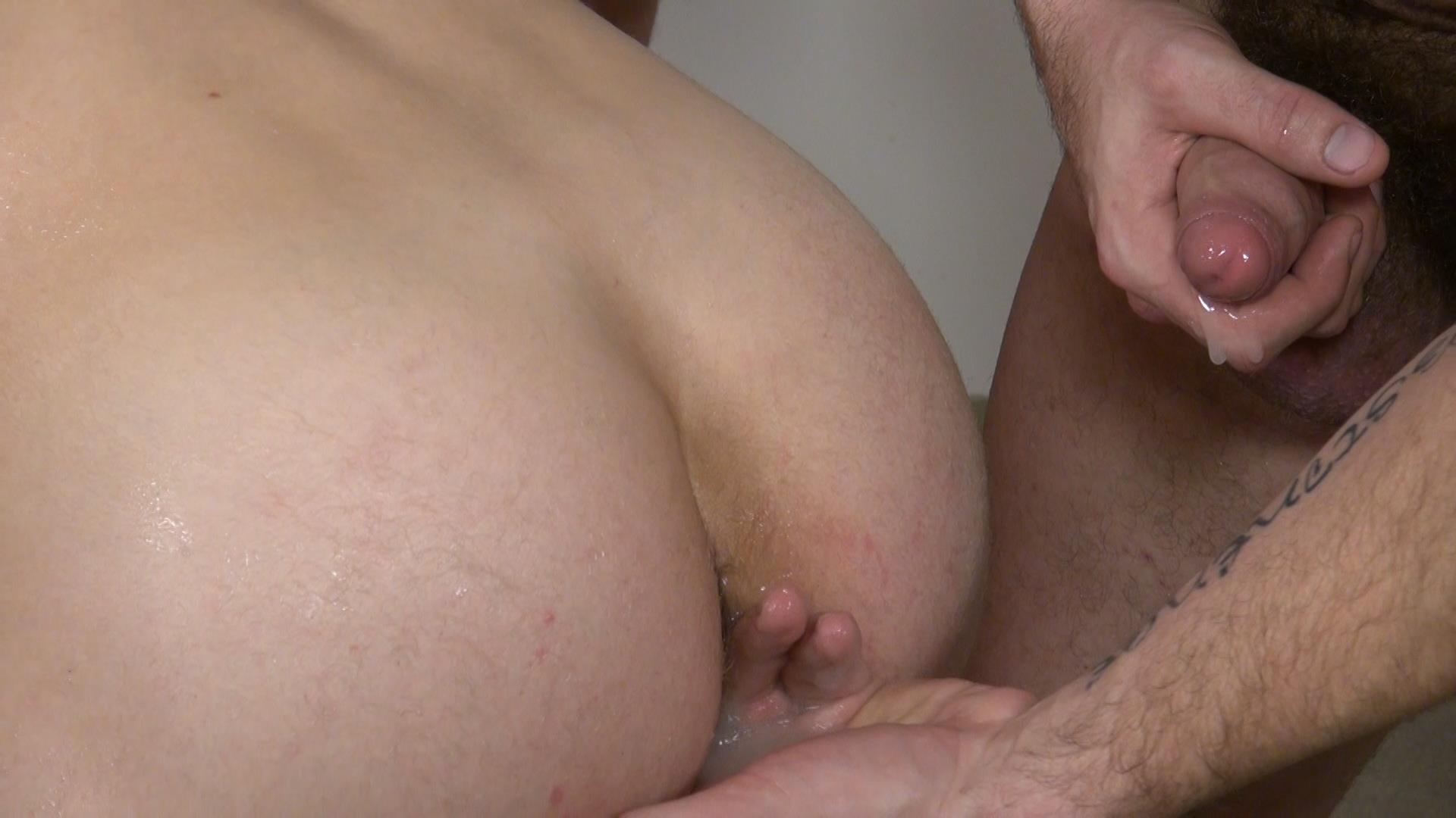 Raw-and-Rough-Bareback-Gay-Sex-Orgy-Amateur-Gay-Porn-06 Six Hairy Hung Guys Pounding A Bottom At A Bareback Sex Party
