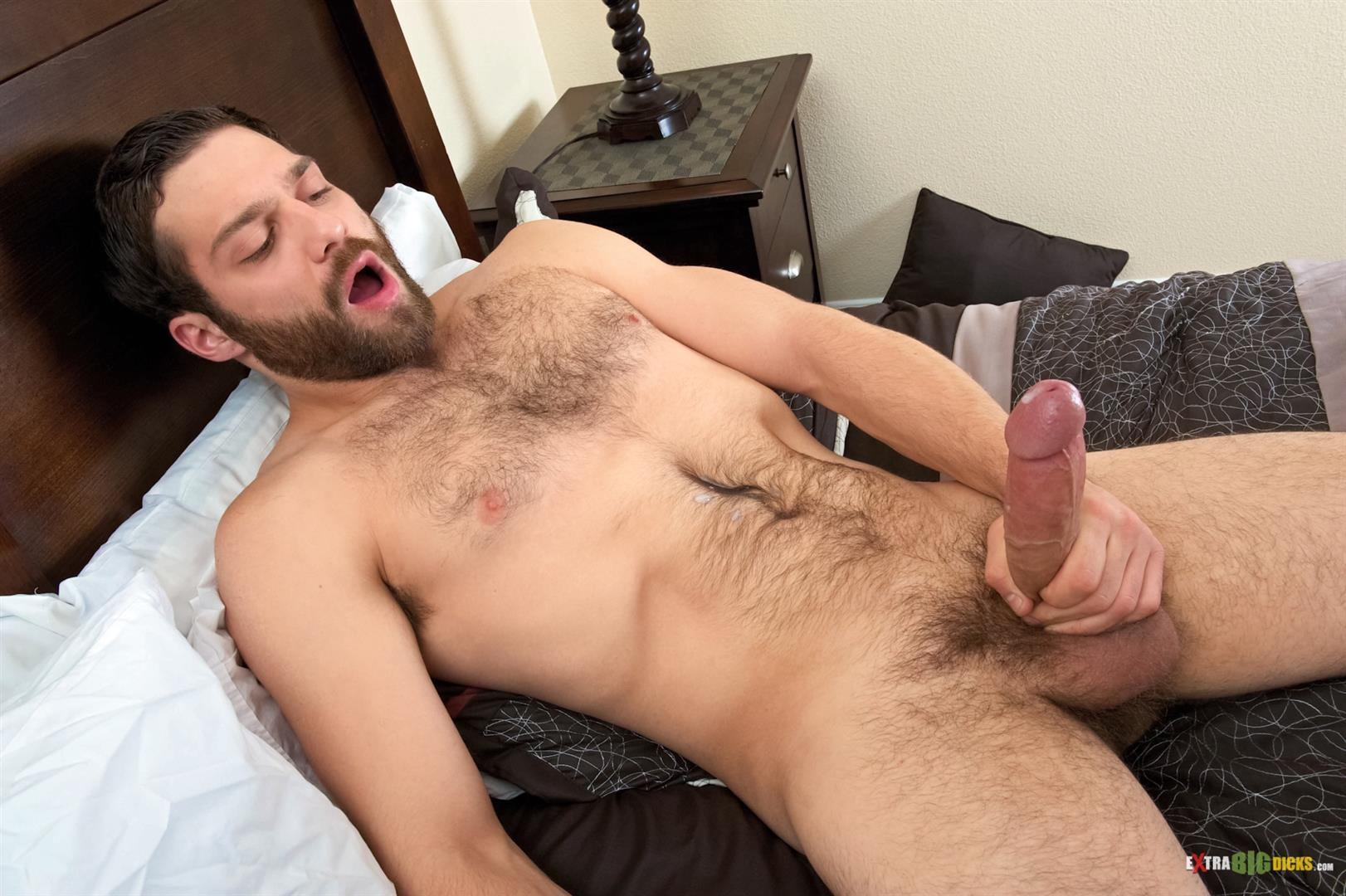 Straight guys jerk off before camera gay