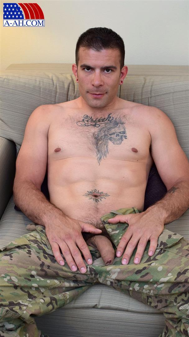 All-American-Heroes-JB-US-Amry-Soldier-Jerking-His-Big-Uncut-Cock-Amateur-Gay-Porn-03 Amateur Straight US Army Specialist Stroking His Big Uncut Cock