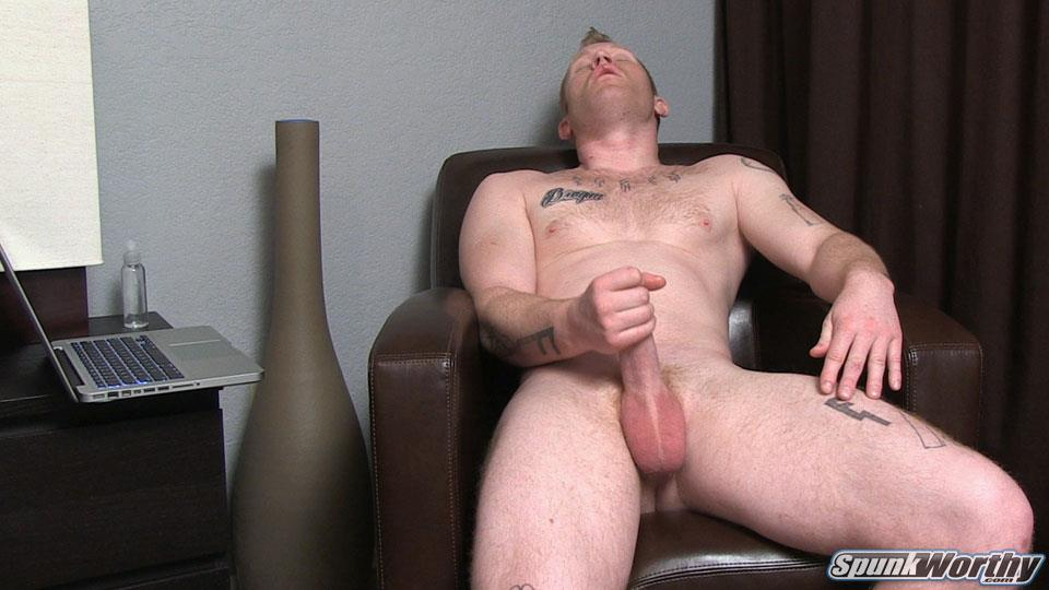 SpunkWorthy-Perry-Straight-Muscle-Redhead-With-A-Thick-Cock-Jerk-Off-Amateur-Gay-Porn-10 Young Straight Muscle Redhead Jerking His Thick Cock