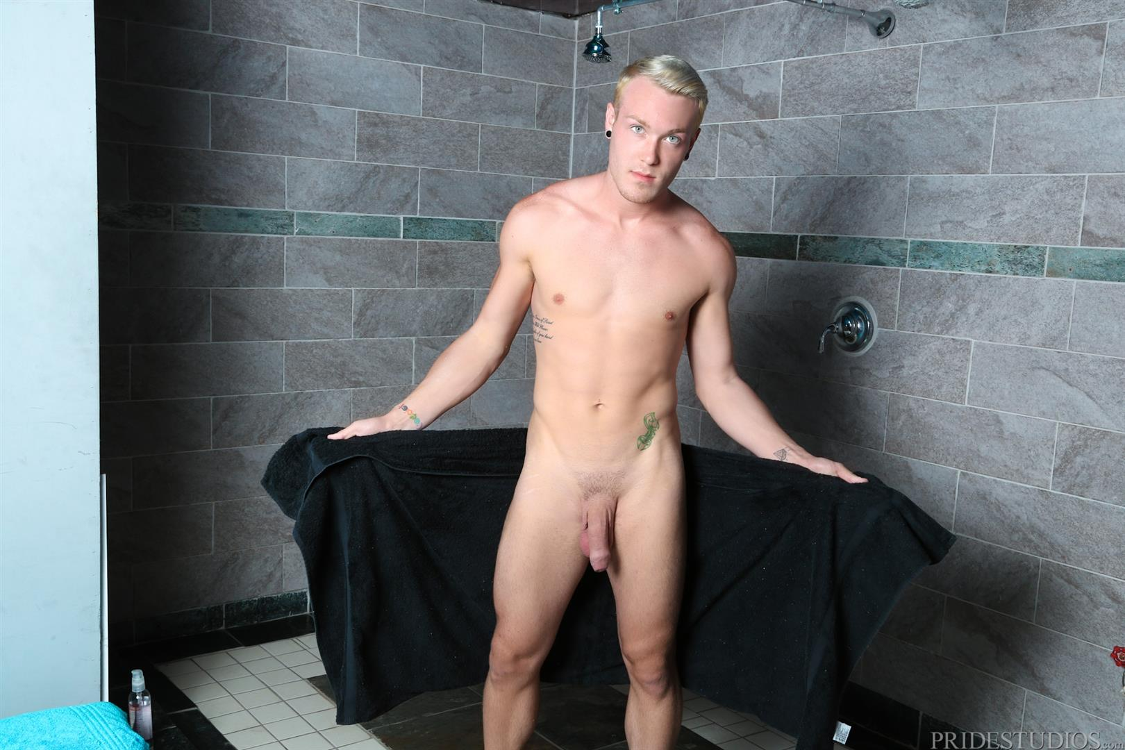 Extra Big Dicks Kaydin Bennett Athletic Guy In The Shower Jerking Off Big Uncut Cock Amateur Gay Porn 06 Athletic Stud Showering And Stroking His Big Uncut Cock