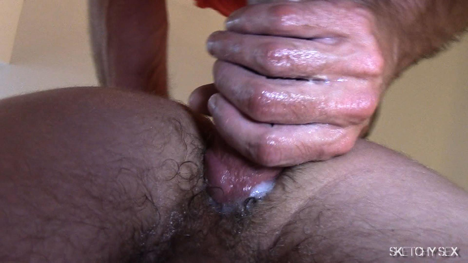 Sketchy-Sex-Nate-Getting-Fucked-Bareback-By-A-10-Inch-Craigslist-Cock-Amateur-Gay-Porn-10 Taking A 10