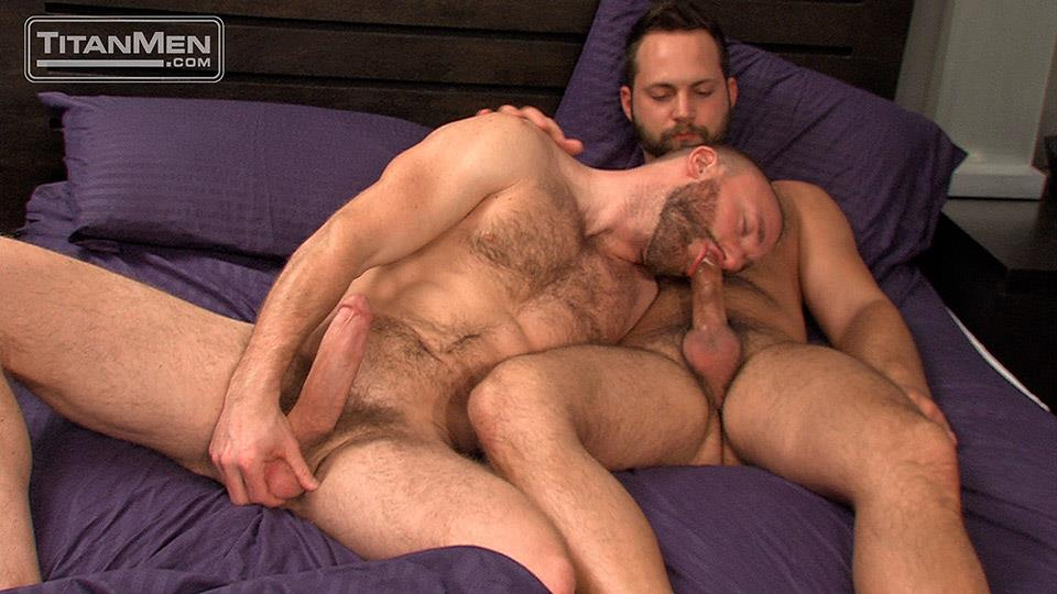 Titan-Men-Nick-Prescott-and-Tyler-Edwards-Hairy-Muscle-Hunks-Fucking-With-Big-Cocks-Amateur-Gay-Porn-07 Hairy Muscle Boyfriends Nick Prescott and Tyler Edwards Fucking