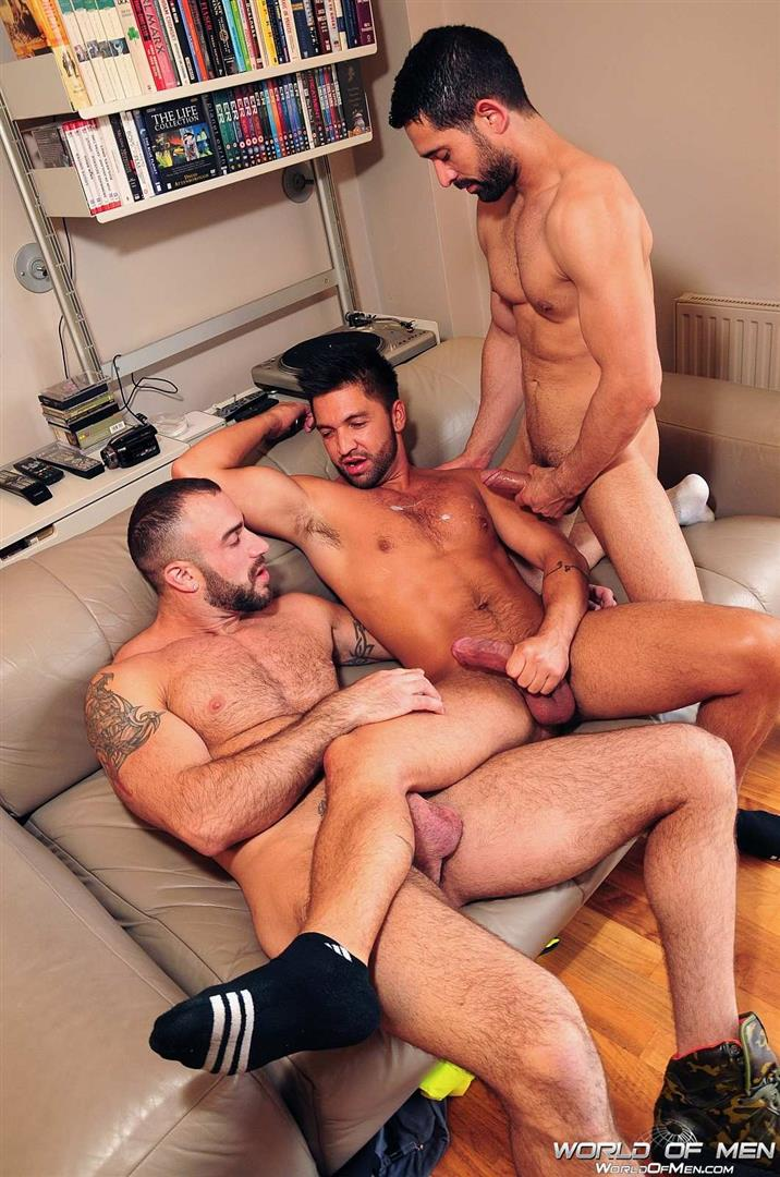 World-Of-Men-Spencer-Reed-and-Dominic-Pacifico-and-Billy-Baval-Taking-Two-Huge-Cocks-Up-The-Ass-Tagteam-Amateur-Gay-Porn-10 Dominic Pacifico Getting Tag Teamed By Two Huge Cocks