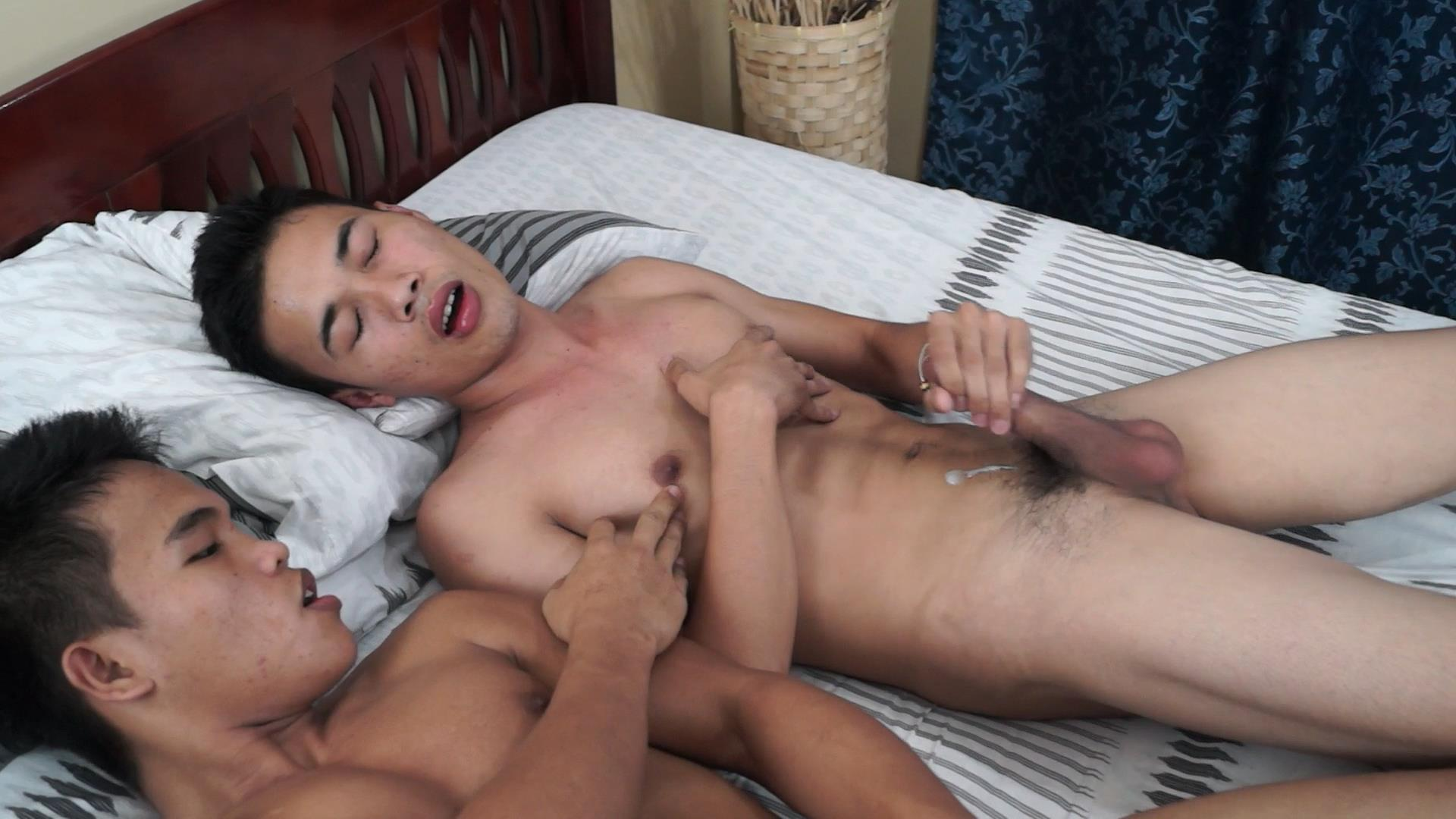 Asia Boy Jacob and Andrew Asian Twinks With Big Asian Cocks Fucking Bareback Amateur Gay Porn 64 Asian Twinks With Big Asian Cocks Fucking Bareback