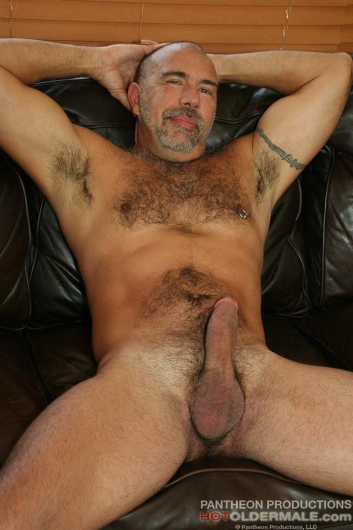 Hairy cock gay mature