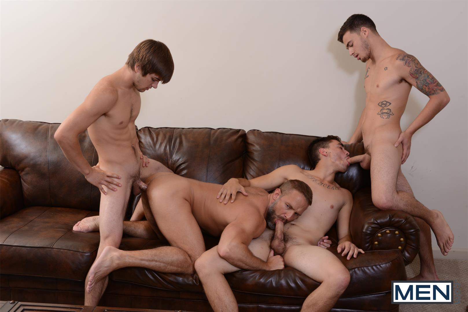 gay triple fuck