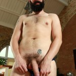 UK Naked Men Tom Long Bearded Guy With A Big Uncut Cock Jerk Off Amateur Gay Porn 12 150x150 Bearded Guy From England Jerking His Big Uncut Cock
