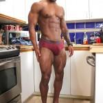 Maskurbate-Adam-Black-Muscle-Guy-Jerking-His-Big-Black-Uncut-Cock-Amateur-Gay-Porn-07-150x150 Black Bodybuilder Strokes His Big Black Uncut Cock