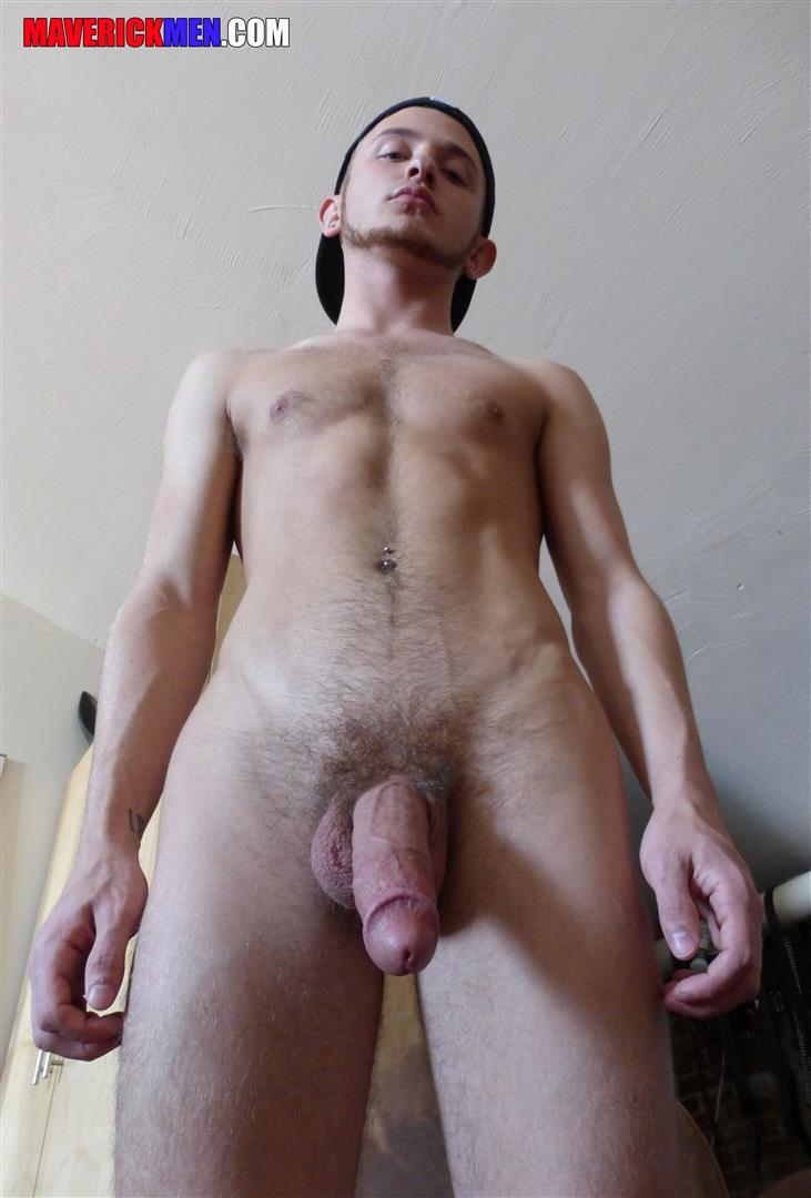 Maverick-Men-Archer-Young-Jock-With-A-Big-Cock-Getting-Barebacked-By-Daddy-Amateur-Gay-Porn-24 Little Young Jock With A Huge Cock Getting Bareback By Two Muscle Daddies
