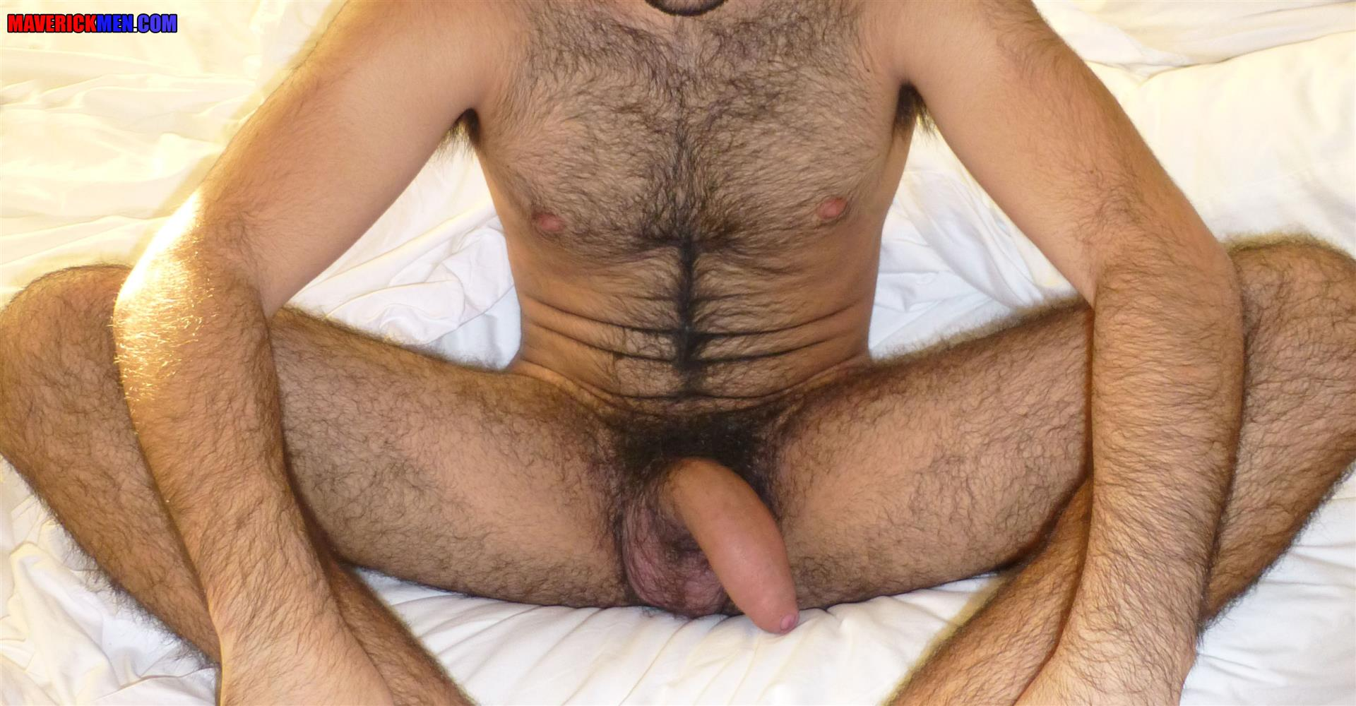 Maverick Men Little Wolf Hairy Guy With Big Uncut Cock Getting Barebacked By Two Daddies Gay Porn 09 Hairy Ass Young Guy Getting Barebacked By The Maverick Men