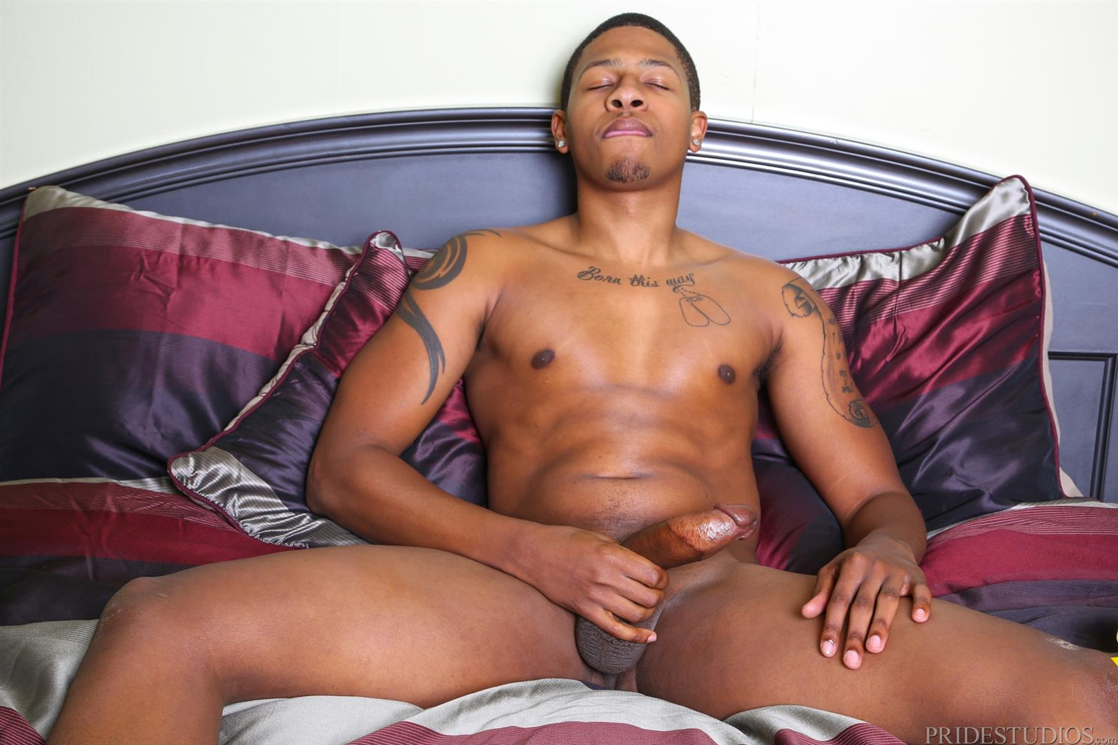 Extra-Big-Dicks-Dontae-Morningwood-Thug-Jerking-Off-Big-Black-Dick-Amateur-Gay-Porn-14 Young Black Guy With A Thick Ass Jerks His Big Black Cock