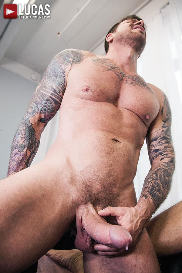 Lucas-Entertainment-Rocco-Steele-and-Dolf-Dietrich-Big-Cock-Barback-Muscle-Hunks-Amateur-Gay-Porn-11 Rocco Steele Breeding Dolf Dietrich With His Massive Cock