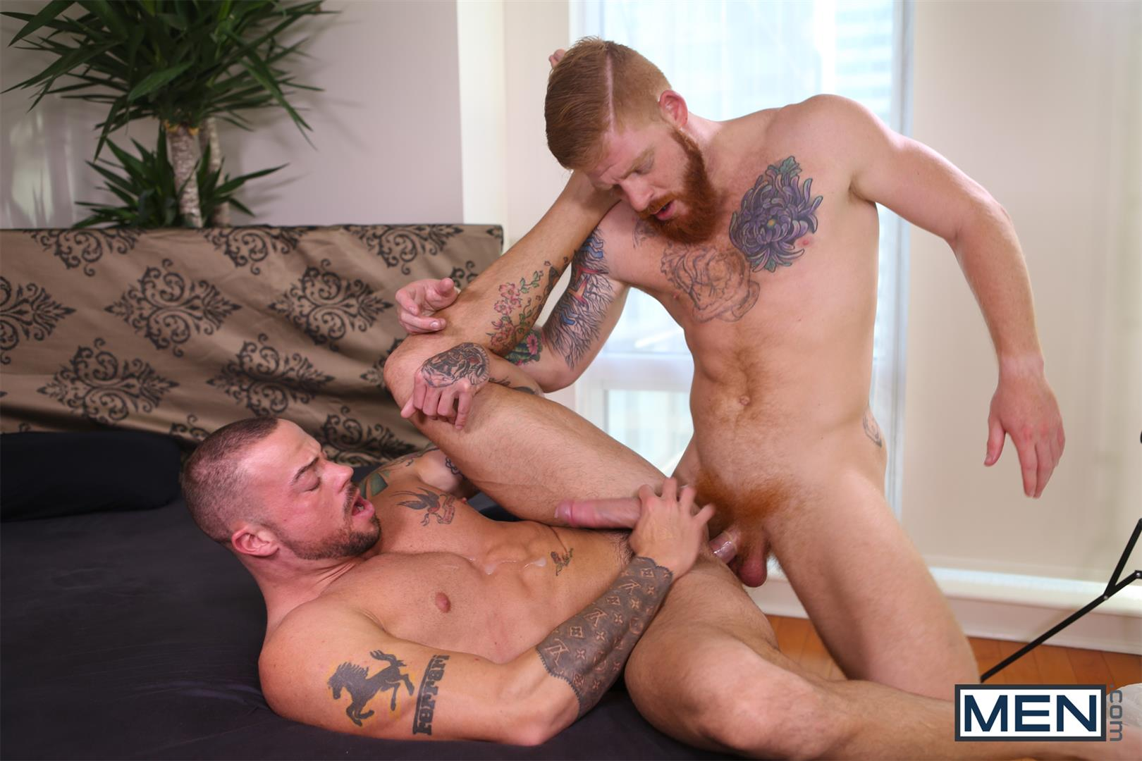 Men Bennett Anthony and Sean Duran Naked Redhead Muscle Guys Fucking Amateur Gay Porn 15 Bennett Anthony Fucking A Muscle Hunk With His Big Ginger Cock
