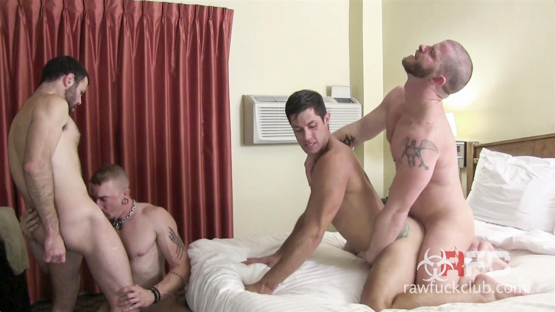 Raw Fuck Club Dylan Saunders and Dusty Williams and Jeff Kendall and Jeremy Stevens BBBH Amateur Gay Porn 02 Big Cock Amateur Hotel Bareback Sex Party