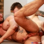 UK Naked Men AJ Alexander and Patryk Jankowski Big Uncut Cock Bareback Sex Amateur Gay Porn 20 150x150 Hairy Muscle Hunk Gets Fucked By A Scottish Guy With A Big Uncut Cock