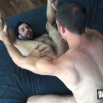 Dudes Raw Jimmie Slater and Nick Cross Bareback Flip Flop Sex Amateur Gay Porn 21 150x150 Hairy Young Jocks Flip Flop Bareback & Cream Each Others Holes