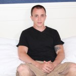 Active Duty James Straight Army Guy Jerking Off His Big Cock Amateur Gay Porn 04 150x150 Tatted Straight Army Hunk Auditions For Gay Porn and Shoots A Big Load