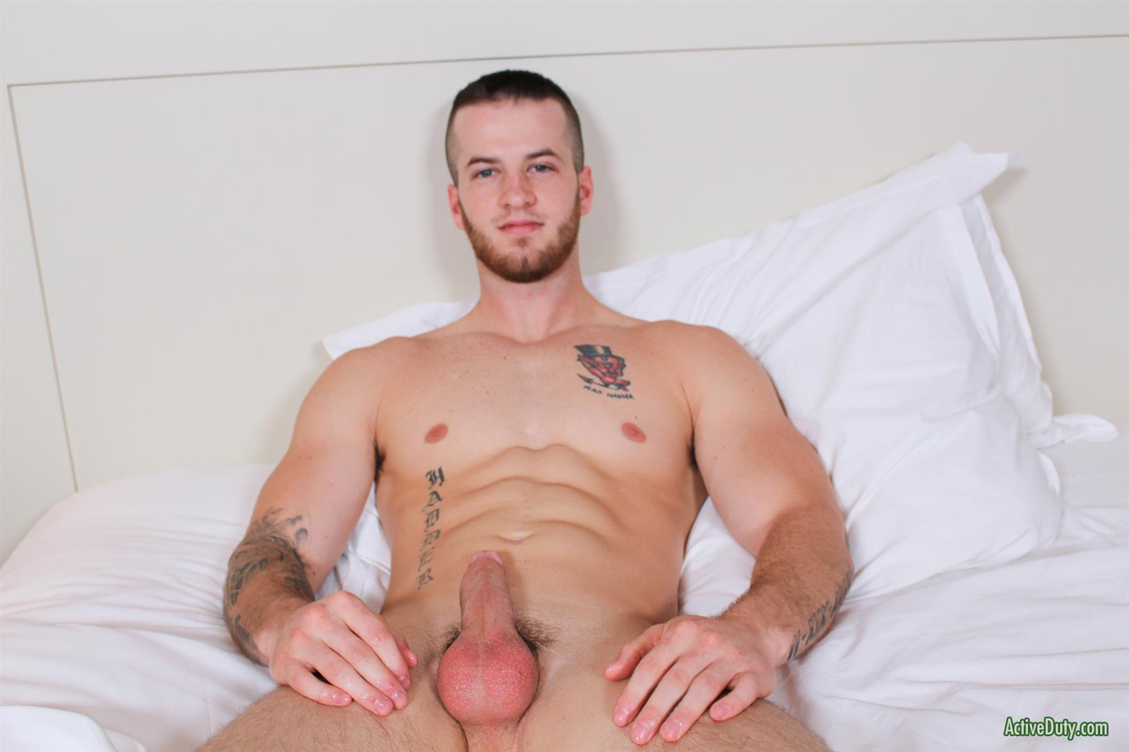 Active Duty Quentin Muscular Naked Army Soldier Masturbating Big Cock Amateur Gay Porn 12 Straight Army Private Stokes His Big Cock On Video For The First Time
