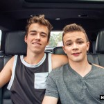 Helix Studios Troy Ryan and Logan Cross Big Cock Twinks Fucking In A Car Amateur Gay Porn 01 150x150 Troy Ryan Fucking Another Twink In The Backseat Of His Car