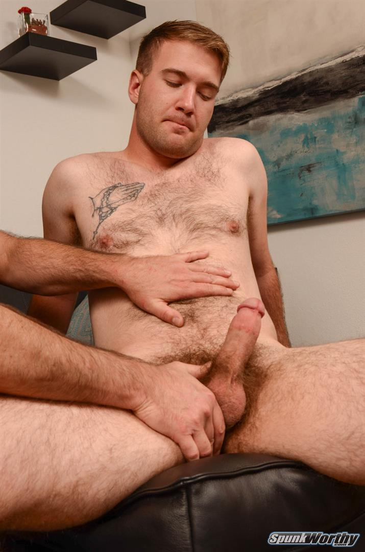 SpunkWorthy-Lance-Hairy-Naked-Marine-Getting-Blowjob-and-Rimmed-Amateur-Gay-Porn-04 Hairy Straight Marine Gets Rimmed and Blown By A Guy