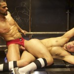 Dark Alley XT Mario Domenech and Antonio Miracle Jocks Bareback Bathhouse Sex Amateur Gay Porn 12 150x150 Muscle Jocks Bareback Fucking At A Bathhouse With Their Big Uncut Cocks