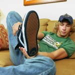 """Toegasms-Casey-Wood-Twink-With-A-Big-Dick-Cum-On-Feet-Amateur-Gay-Porn-03-150x150 Blonde Twink Casey Wood Jerking His 10"""" Cock & Cumming On His Feet"""