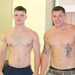 Active Duty Jeremy Diesell and Ivan Muscular Army Guys Barebacking Amateur Gay Porn 04 150x150 Straight Muscular Army Buddies Sharing A First Time Bareback Fuck
