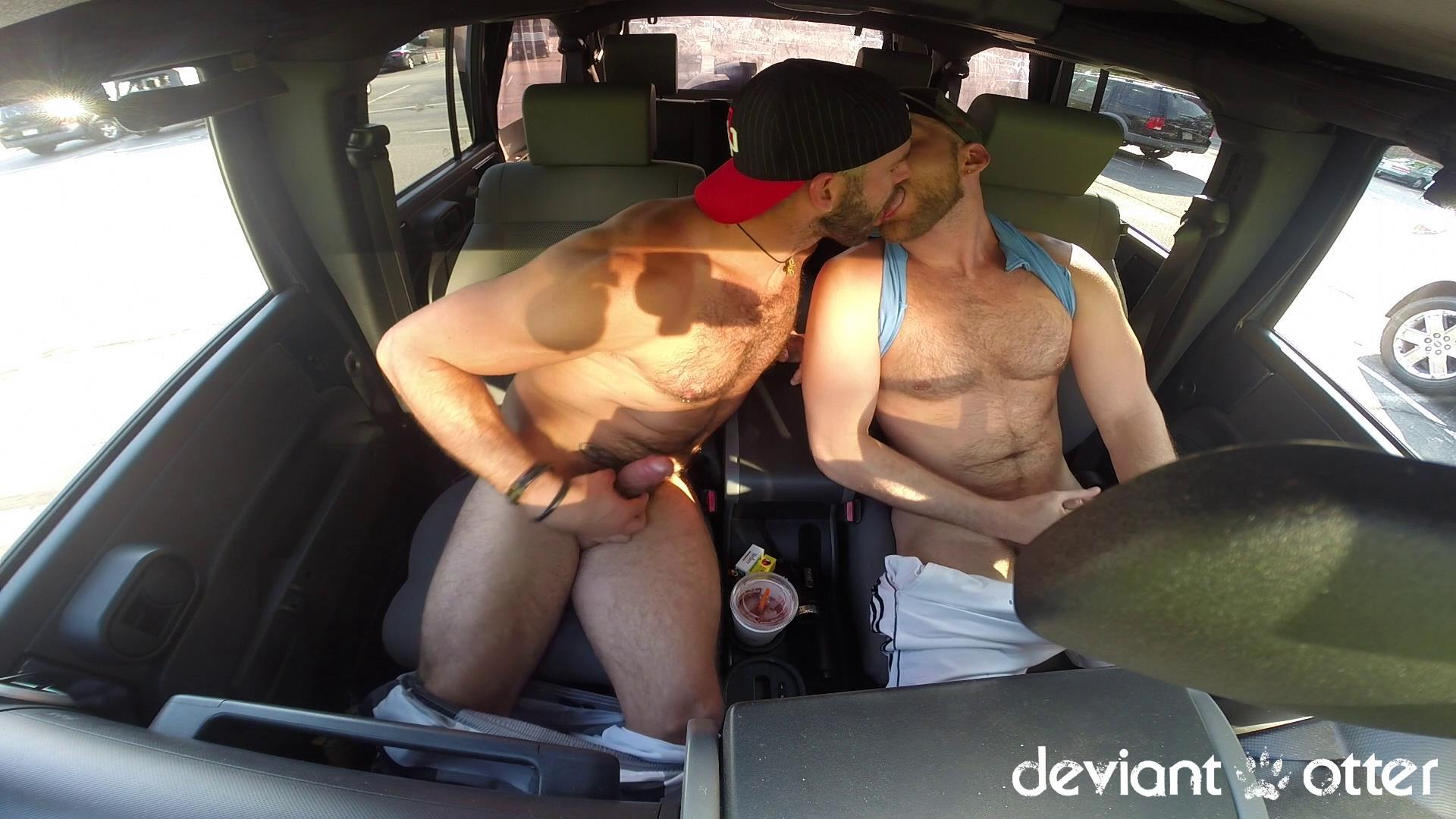 Deviant Otter Xavier Sucking Cock In Public Hairy Guys Amateur Gay Porn 12 Masculine Hairy Guys Sucking Each Others Cock In A Parking Lot