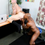Sean Duran and Osiris Blade Extra Big Dicks Black Cock Interracial Amateur Gay Porn 10 150x150 White Muscle Hunk Takes A Big Black Cock Up The Ass During A Job Interview