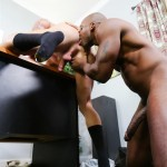Sean Duran and Osiris Blade Extra Big Dicks Black Cock Interracial Amateur Gay Porn 11 150x150 White Muscle Hunk Takes A Big Black Cock Up The Ass During A Job Interview