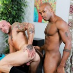 Sean Duran and Osiris Blade Extra Big Dicks Black Cock Interracial Amateur Gay Porn 12 150x150 White Muscle Hunk Takes A Big Black Cock Up The Ass During A Job Interview
