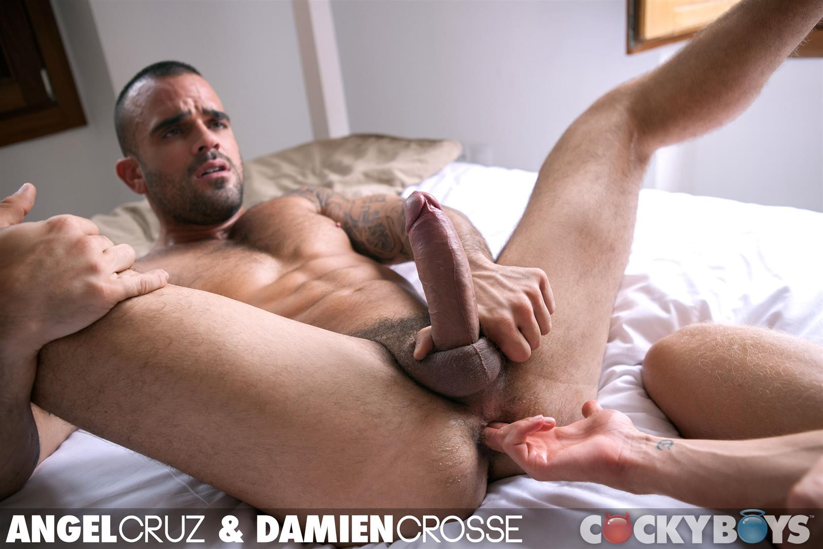 Cockyboys-Angel-Cruz-and-Damien-Cross-Big-Uncut-Cocks-Fucking-Amateur-Gay-Porn-35 Angel Cruz and Damien Cross Flip Fucking With Their Big Uncut Cocks