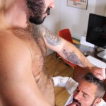 Hardkinks Jessy Ares and Martin Mazza Hairy Alpha Male Amateur Gay Porn 27 150x150 Hairy Muscle Alpha Male Dominates His Coworker