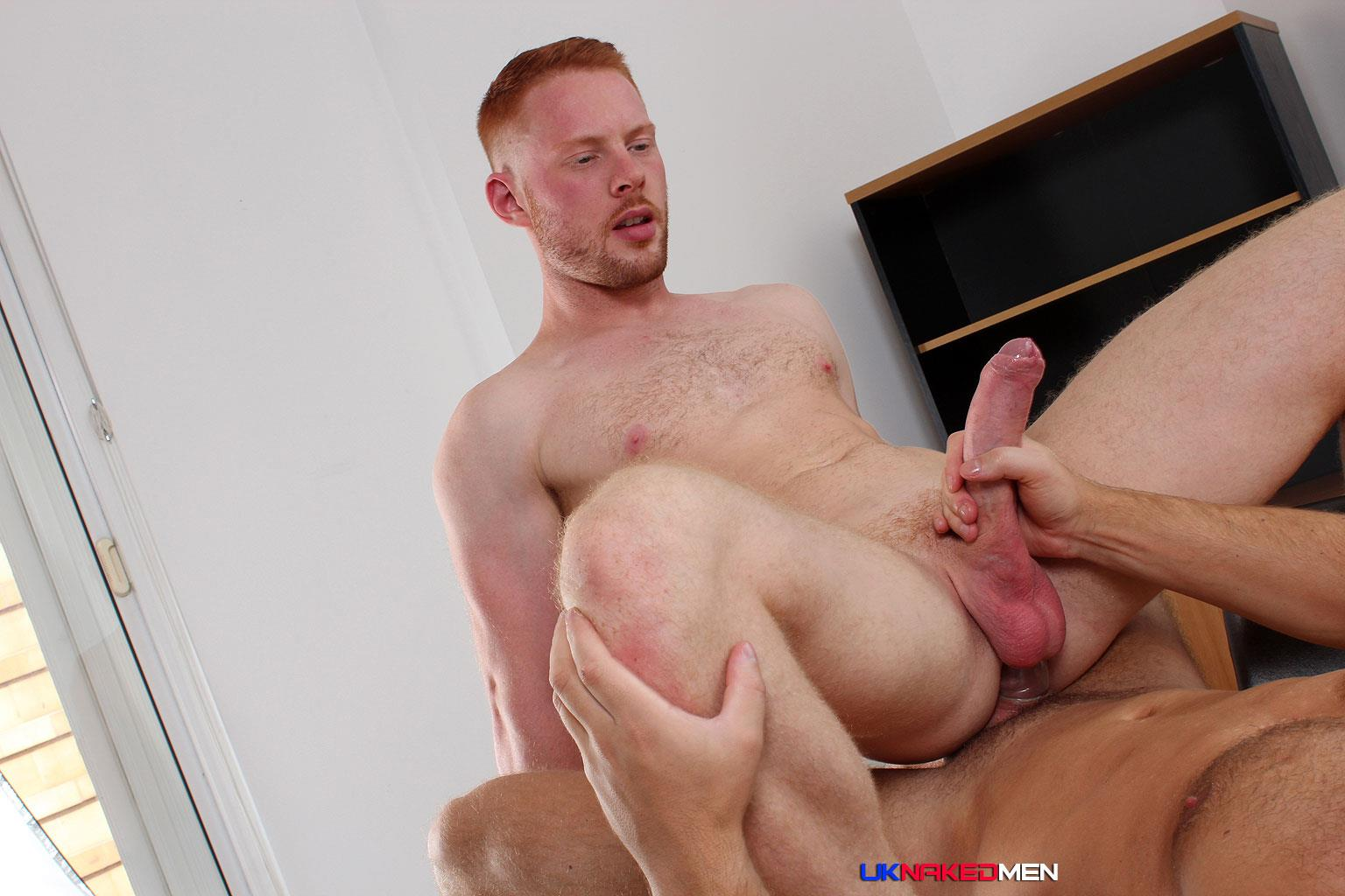 UK-Naked-Men-Logan-Moore-and-Andro-Maas-Redhead-Gets-Fucked-By-Big-Uncut-Cock-Amateur-Gay-Porn-17 Redhead Andro Maas Takes A Big Thick Uncut Cock Up The Ass