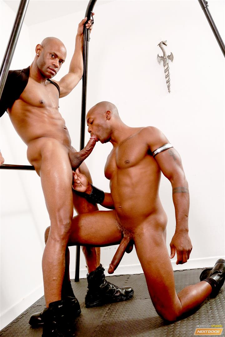 Marlone Starr and Osiris Blade Next Door Ebony Big Black Cocks Fucking Amateur Gay Porn 11 Osiris Blade Takes Marlone Starrs Massive Horse Cock Up The Ass