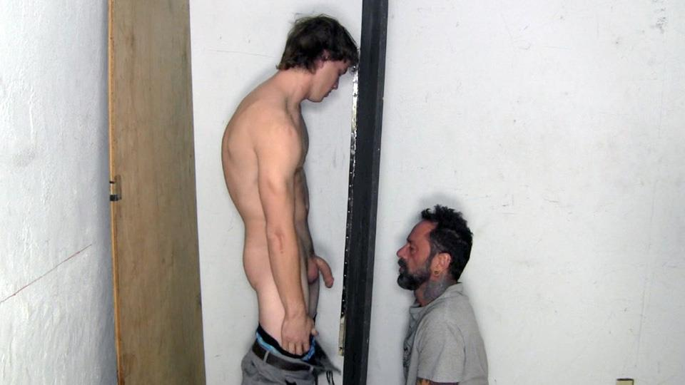 Amateur latino straight frat guy gets sucked a man