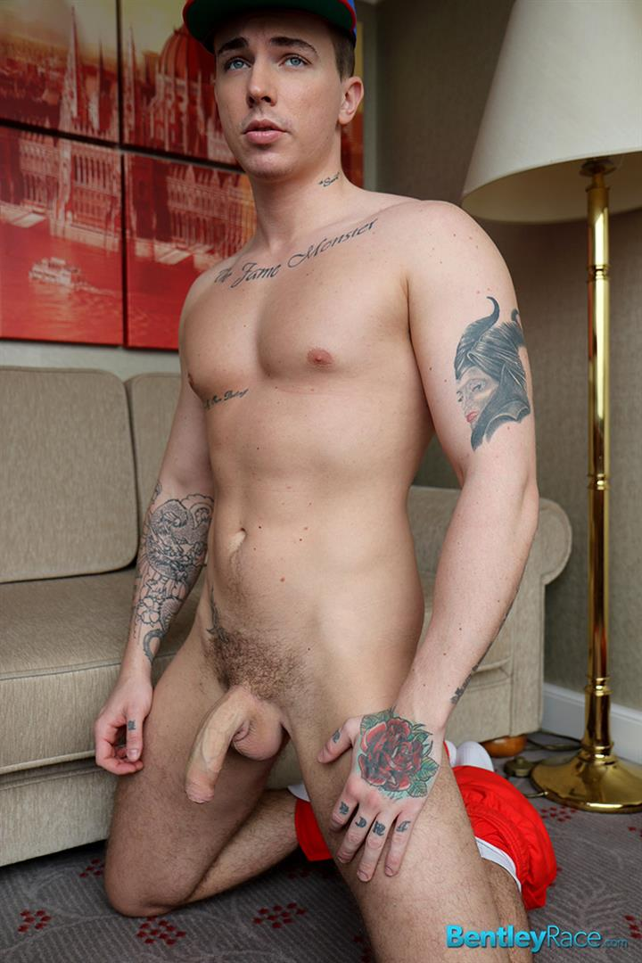 Bentley-Race-Dave-Circus-Naked-Hungarian-With-A-Big-Uncut-Cock-Amateur-Gay-Porn-14 Hungarian Muscle Boy Dave Circus Strokes His Big Uncut Cock