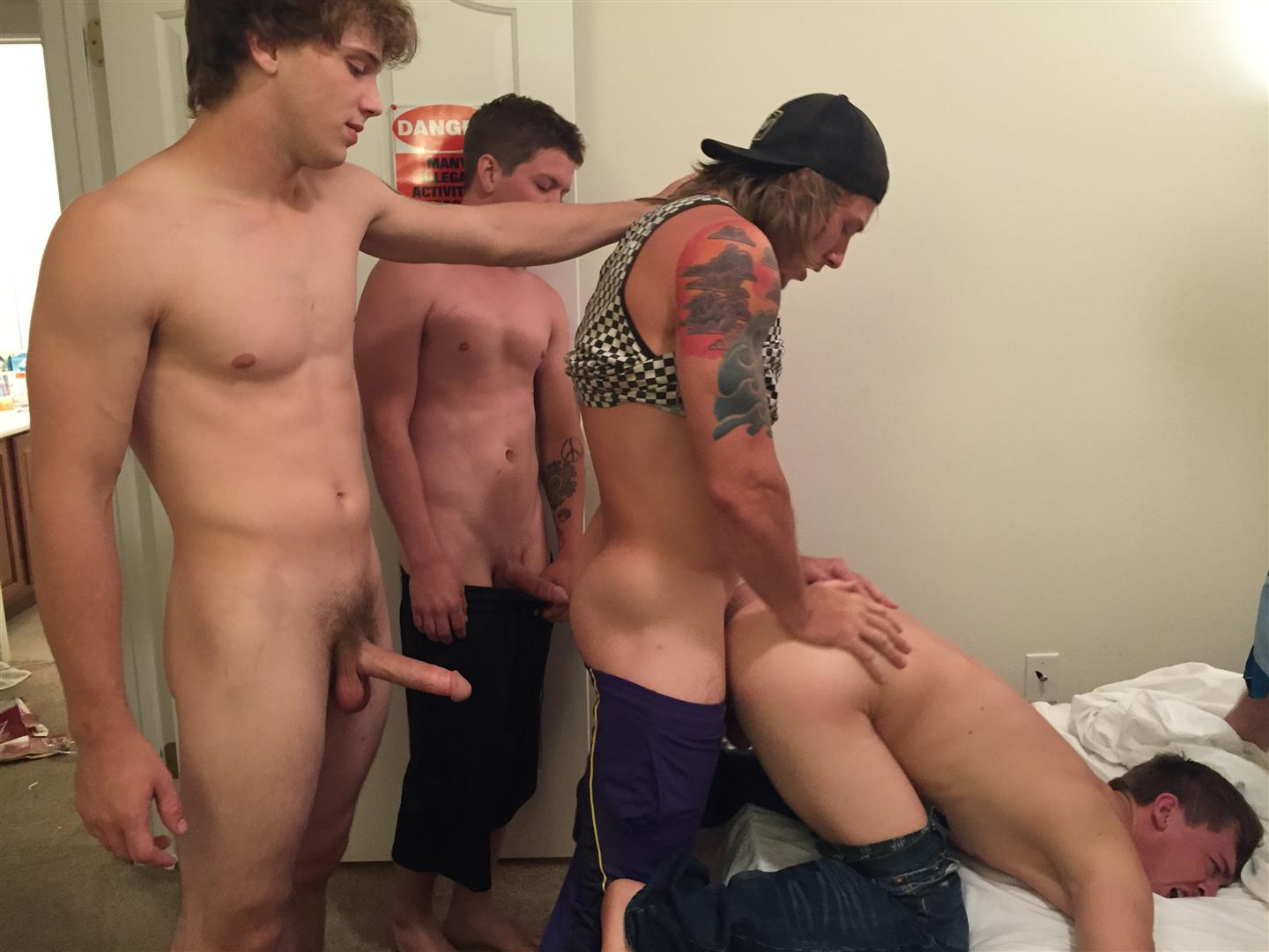Fraternity-X-Naked-Frat-Boys-Barebacking-Freshman-Ass-Amateur-Gay-Porn-04 Fraternity Boys Take Turns Barebacking A Scared Freshman Ass