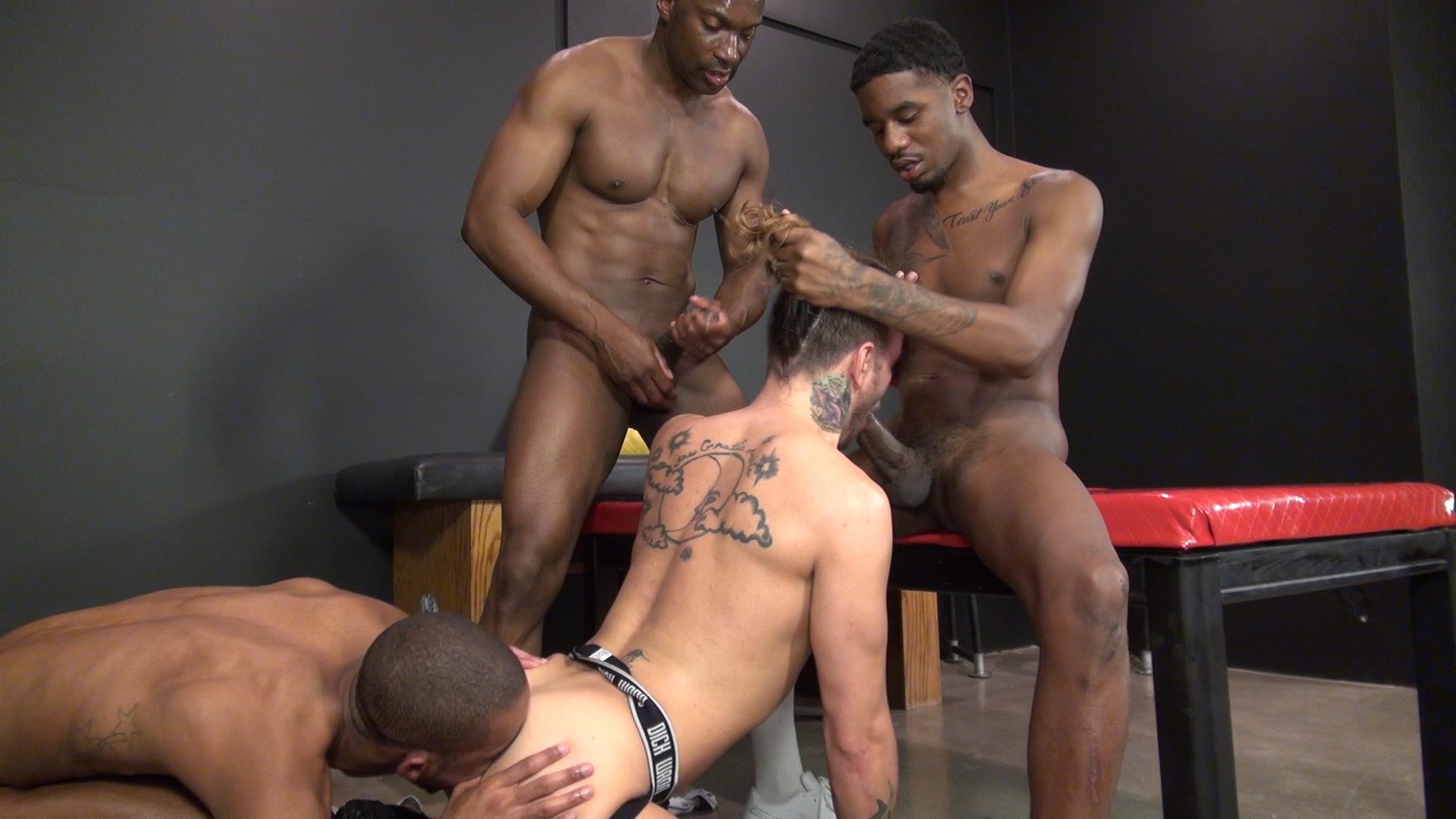 gay porn black on white