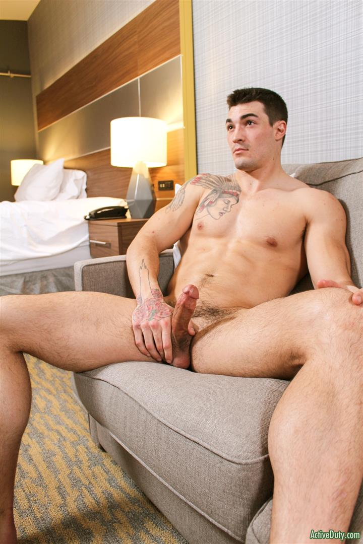 Active-Duty-Scott-Straight-Muscular-Army-Jock-Naked-Jerk-Off-Amateur-Gay-Porn-13 Straight Muscular Army Jock Auditions For Gay Porn