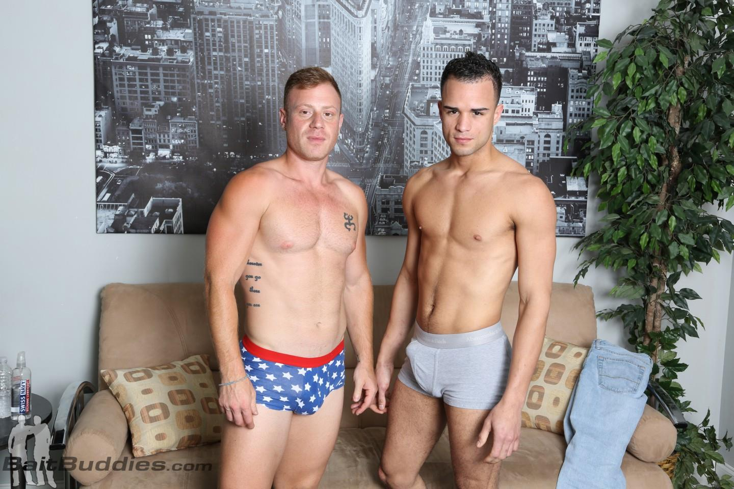 Bait-Buddies-Saxon-and-Javier-Cruz-Straight-Ginger-With-Thick-Cock-Amateur-Gay-Porn-03 Straight Beefy Ginger Fucks His First Man Ass For Cash