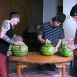 Straight Naked Thugs Devin Reynolds and Blinx and Kenneth Slayer Fucking A Watermelon Amateur Gay Porn 06 150x150 Straight Southern Naked Rednecks Fuck Some Watermelons With Their Big Dicks