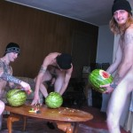 Straight Naked Thugs Devin Reynolds and Blinx and Kenneth Slayer Fucking A Watermelon Amateur Gay Porn 08 150x150 Straight Southern Naked Rednecks Fuck Some Watermelons With Their Big Dicks