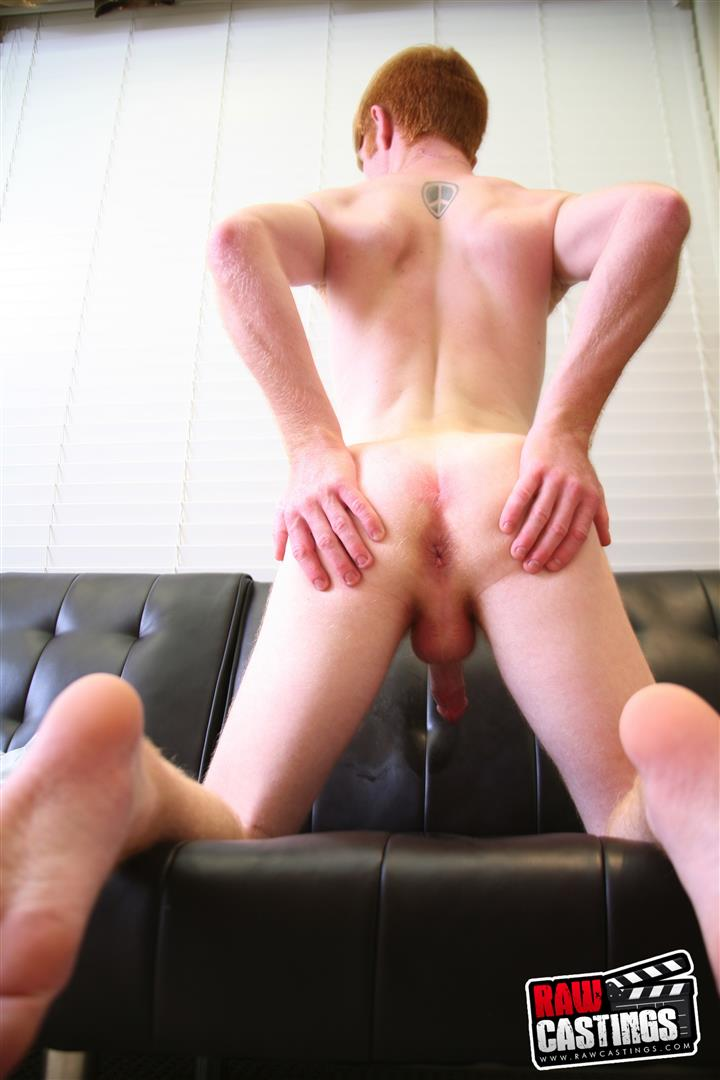 Raw-Castings-Jackson-Davis-Redheaded-Twink-Bareback-Amateur-Gay-Porn-13 Ginger Twink Auditions For Gay Porn And Gets A Raw Dick In The Ass