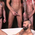 Raw and Rough Piss Tub Bareback Sex Party Amateur Gay Porn 02 150x150 Getting Bareback Fucked In The Piss Tub At The Gay Bar