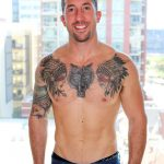 Active Duty Brad Powers Naked Army Soldier With A Big Cock Amateur Gay Porn 07 150x150 Tatted Hung Army Soldier Brad Powers Shoots A Big Load Of Cum