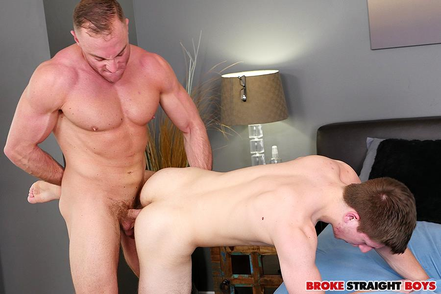 Broke Straight Boys Jacob Durham and Oliver Saxon Free Bareback Sex 19 Straight Muscle Jock Bareabacks His Straight Buddy For Cash