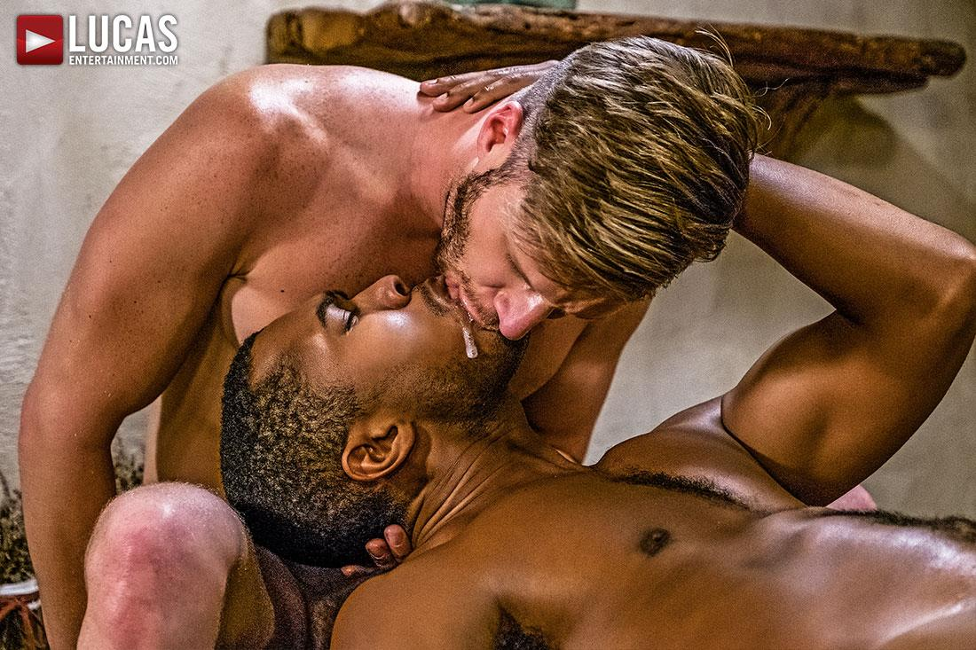 Lucas Entertainment Brian Bonds and Sean Xavier Big Black Horse Cock Bareabck 14 Brian Bonds Takes Sean Xaviers Big Black Horse Cock Bareback