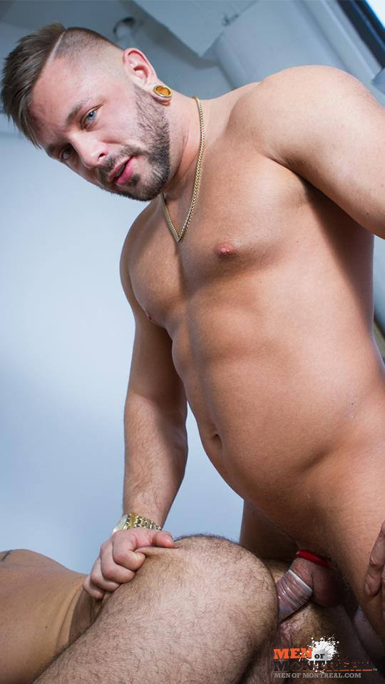 Men-of-Montreal-Teddy-Torres-and-Mateo-Amateur-Gay-Porn-34 Hairy Muscle Jock Teddy Torres Gets His Hairy Ass Plowed Deep